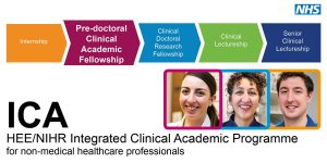 HEE/NIHR ICA Pre-doctoral Clinical Academic Fellowship (PCAF) Round 4 open